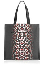 Mcq By Alexander Mcqueen Printed Textured Leather Tote