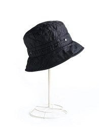 Betmar Quilted Bucket Hat Black