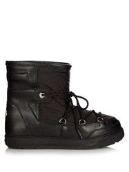 Moncler Fanny Quilted Apres Ski Boots Black