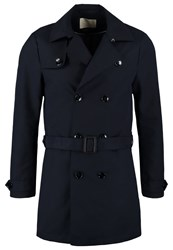 Scotch And Soda Trenchcoat Night Dark Blue