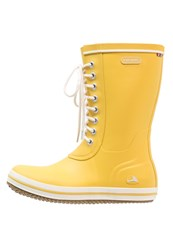 Viking Retro Light Wellies Yellow