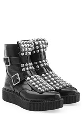 Marc By Marc Jacobs Embellished Ankle Boots Black