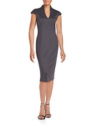 Alexia Admor Cap Sleeve Sheath Dress Castle Rock