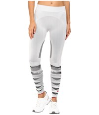 Adidas By Stella Mccartney Winter Sport Seamless Tights Ap7101 White Black