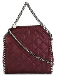 Stella Mccartney 'Falabella' Quilted Tote Pink And Purple