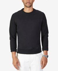 Nautica Men's Long Sleeve Sweatshirt True Black