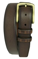 Men's Boconi 'Hendrix' Pebbled Leather Belt