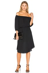 Eight Sixty Off The Shoulder Midi Dress Black
