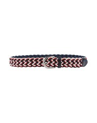 Tombolini Small Leather Goods Belts Men Red