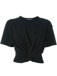 Alexander Wang T By Twist T Shirt Black