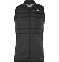 Nike Golf Aeroloft Perforated Quilted Hell Gilet Black