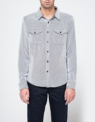 Outerknown Blanket Shirt Blue White