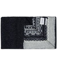 Norse Projects Fair Isle Scarf Charcoal Melange