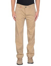 Replay Trousers Casual Trousers Men Camel