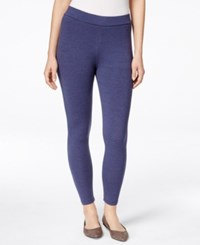 Styleandco. Style And Co. Cropped Leggings Denim Heather