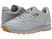 Reebok Classic Leather Tc Flat Grey Black Warm Olive Oatmeal Gum White Men's Shoes Gray