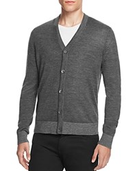Theory Rothley Castellos Slim Fit Cardigan Sweater 100 Bloomingdale's Exclusive Charcoal