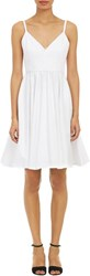 Barneys New York Flared Sundress White