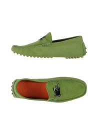 Etro Footwear Moccasins Men Green