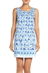 Lilly Pulitzerr Women's Pulitzer 'Cathy' Print Cotton Sheath Dress