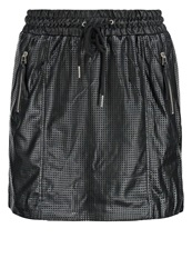 Noisy May Nmutah Mini Skirt Black