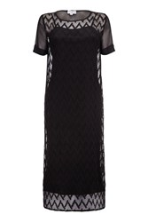 Almost Famous Overlay Summer Dress Black