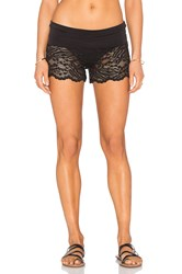 Beach Bunny All About That Lace Short Cover Up Black