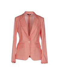 Tonello Suits And Jackets Blazers Women Coral