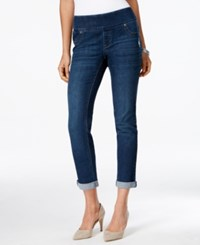 Styleandco. Style And Co. Petite Cropped Normandy Wash Pull On Jeans Only At Macy's