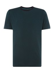 Paul Smith Men's Ps By Regular Fit Striped T Shirt Green