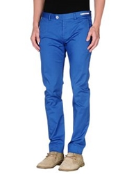Paoloni Casual Pants Bright Blue