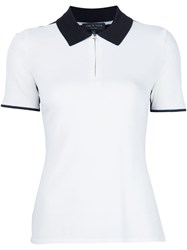 Rag And Bone 'Alice' Polo White