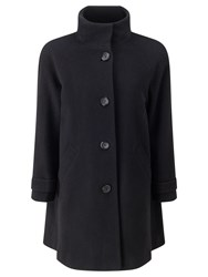 John Lewis Janet Swing Coat Black