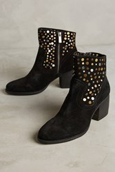 Anthropologie Seychelles Liberal Studded Booties Black