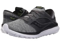Saucony Kineta Relay Heather Black Men's Running Shoes Gray