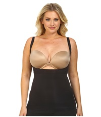 Spanx Plus Size Shape My Day Open Bust Camisole Black Women's Underwear