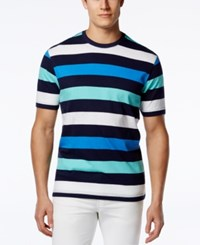 Club Room Big And Tall Monument Striped T Shirt Only At Macy's