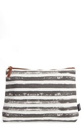 Maika Large Canvas Pouch Grey
