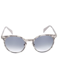 Italia Independent Camouflage Print Sunglasses Grey