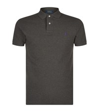 Polo Ralph Lauren Slim Fit Mesh Shirt Male Charcoal