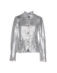 Vintage De Luxe Suits And Jackets Blazers Women Silver