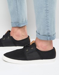 Aldo Paresa Plimsolls In Black Black