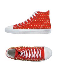 Gienchi Footwear High Tops And Trainers Men Red
