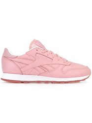 Reebok 'Classic Leather Face' Sneakers Pink And Purple