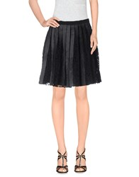 Sea Skirts Knee Length Skirts Women Black