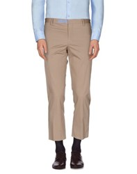 Patrizia Pepe Trousers Casual Trousers Men Beige