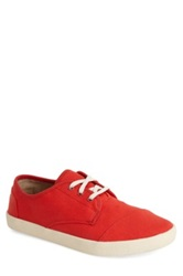 Toms 'Classic Paseos' Canvas Sneaker Red