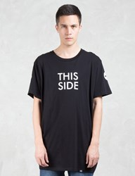 Cheap Monday Dragged Space Side Longer Fit T Shirt