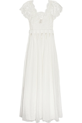 Sophia Kokosalaki Tykhe Lace And Chiffon Gown