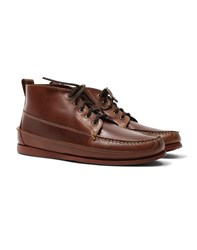 G.H. Bass And Co. Camp Mock Ranger Boot Mid Brown
